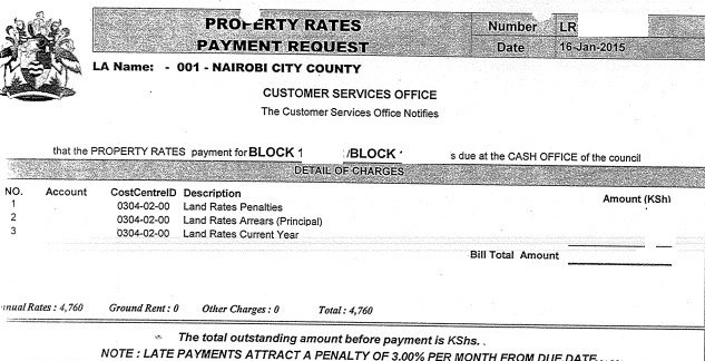 How to Pay Your Land Rates in Kenya