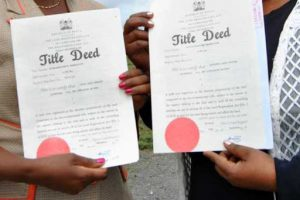 What to do after Loss of Original Title Deed