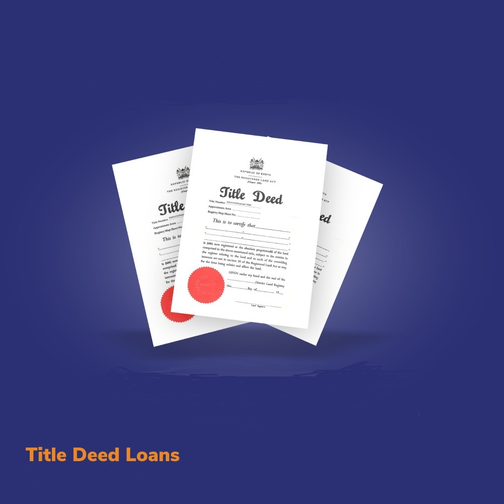 Getting Loan with a Title Deed